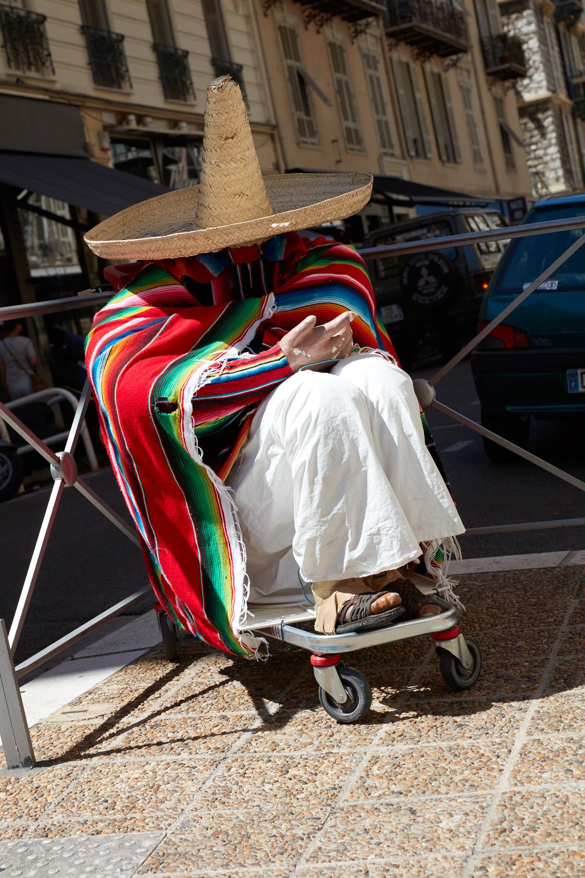 NICE-Strassenszene-Mexikaner-in-Nizza0106   SPRINGER photography