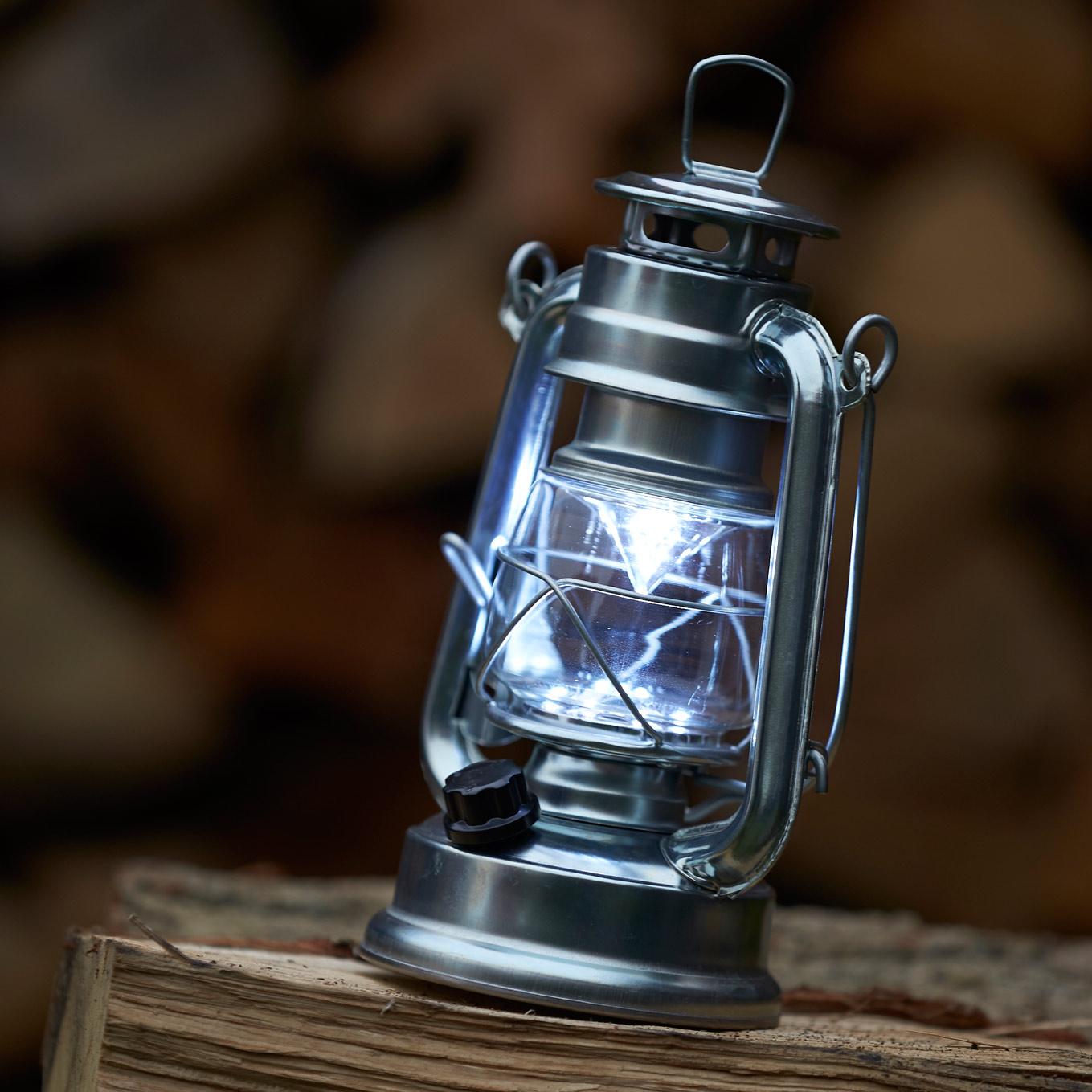 LED-Lampe im Westernstyle