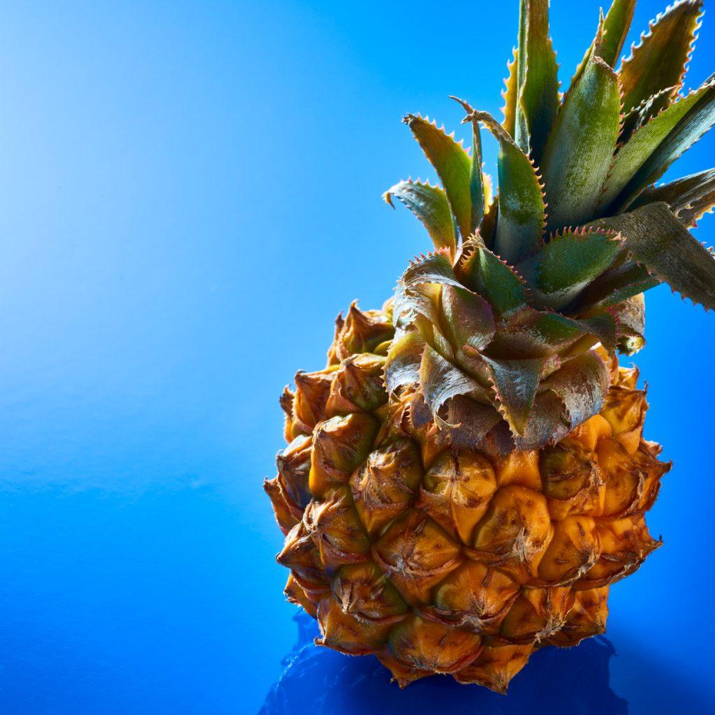 Eine Ananas als POP food.