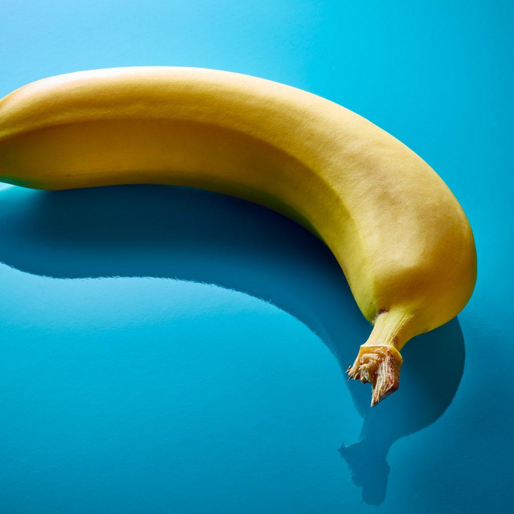 Poppige Banane.